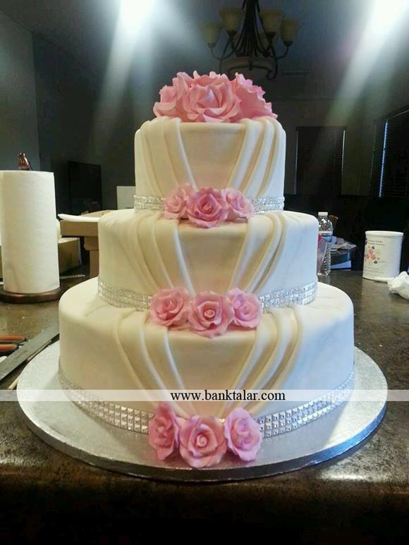 مدل کیک عروسی 2015**banktalar.com