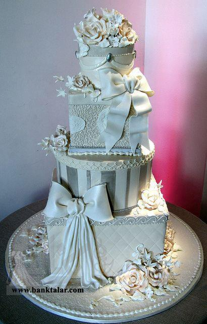 مدل کیک عقد و عروسی بسیار زیبا**banktalar.com