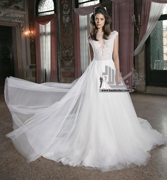 لباس عروس 2016 دانتل