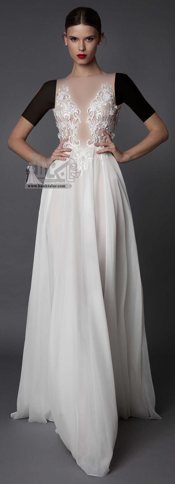 لباس عروس دانتل 2017