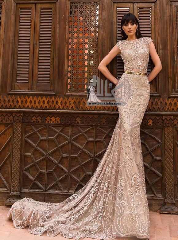 مدل های لباس عروس 2018 گیپور