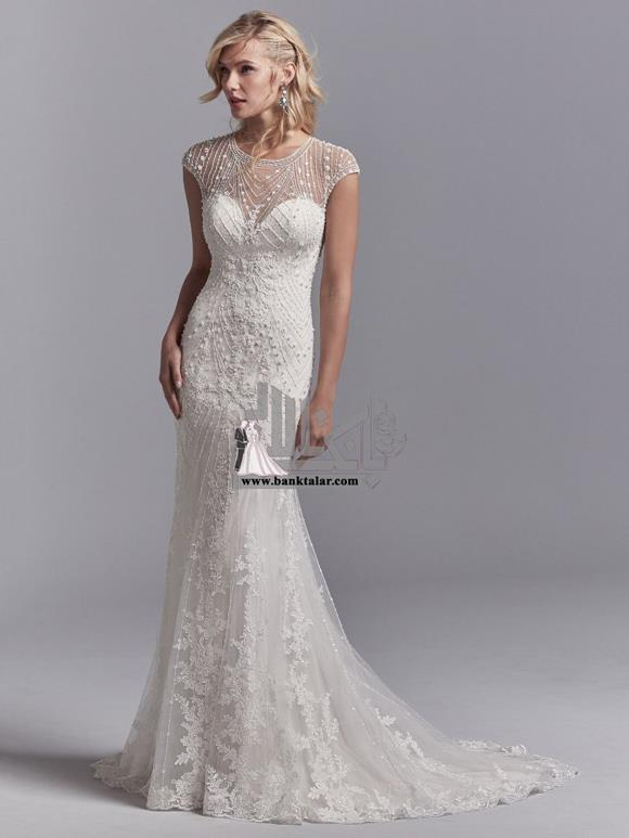 مدل لباس عروس 2018 اروپایی