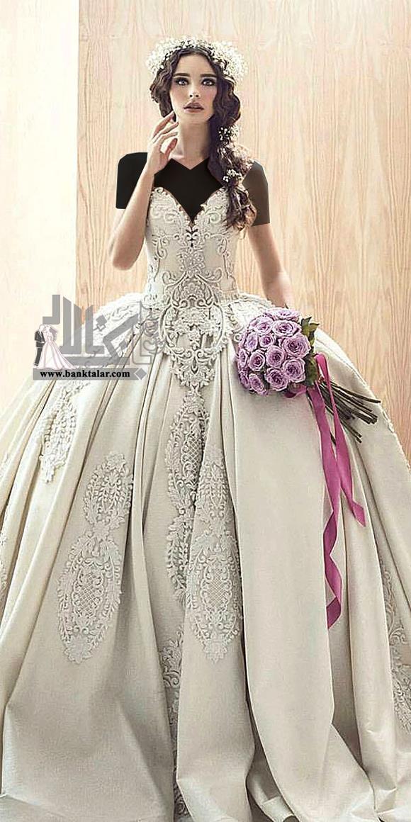 مدلهای لباس عروس پفی جدید
