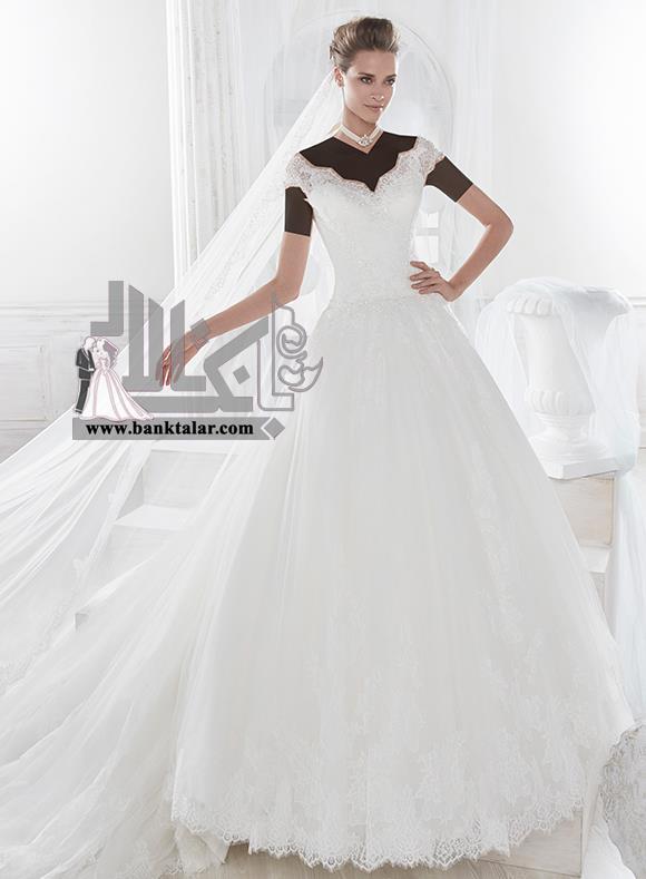 لباس عروس 2018 پفی جدید