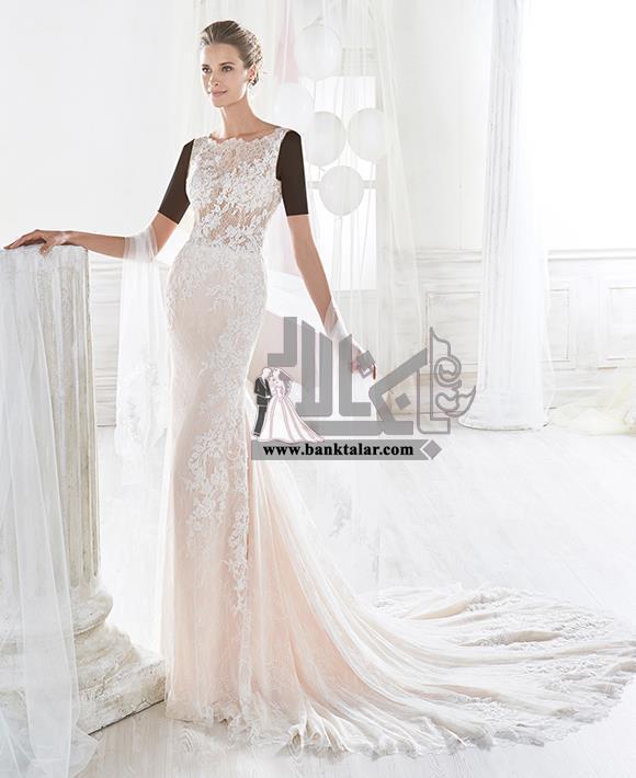 مدل های لباس عروس دانتل و اروپایی 2018