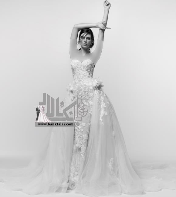 مدل های لباس عروس دانتل فوق العاده زیبا 2018