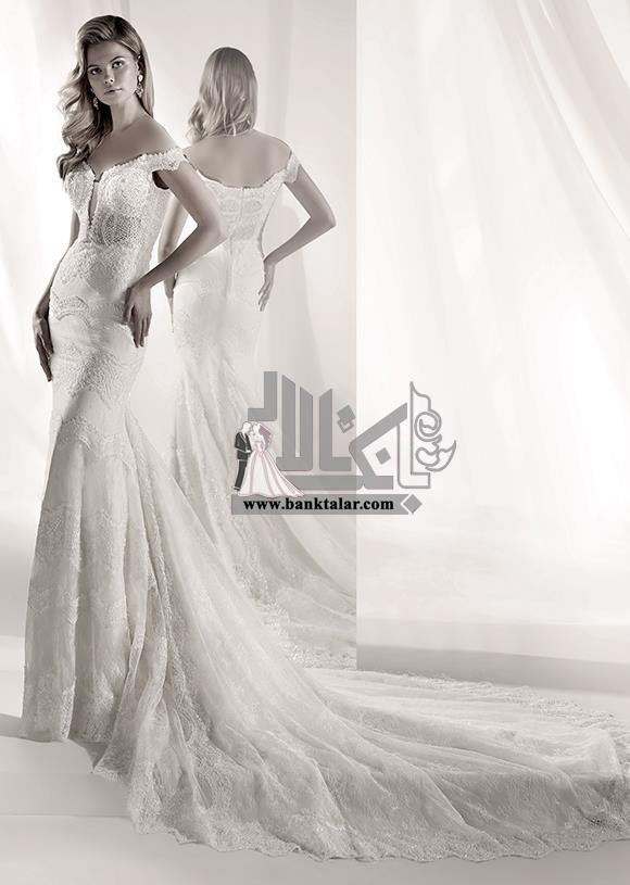 مدل لباس عروس اروپایی فوق العاده خاص و جدید