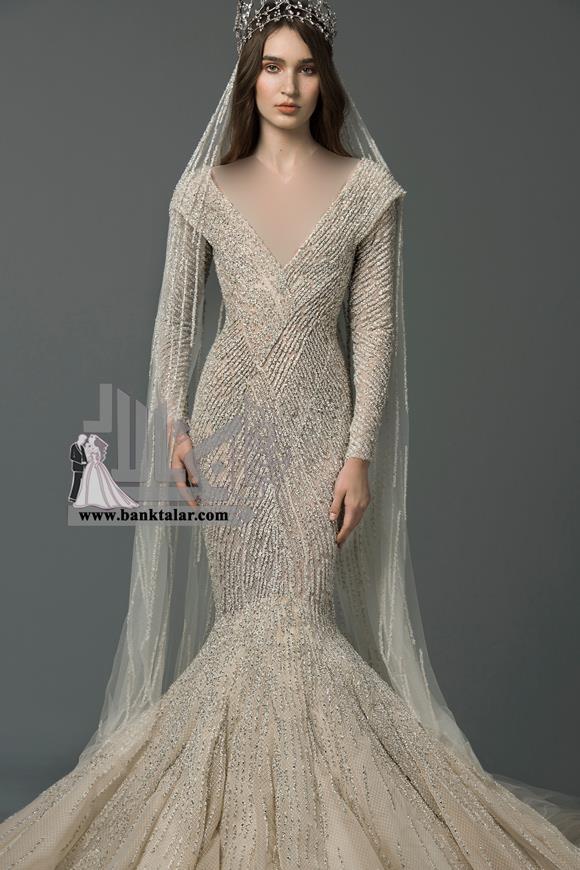 مدل لباس عروس جدید و پفی 2019