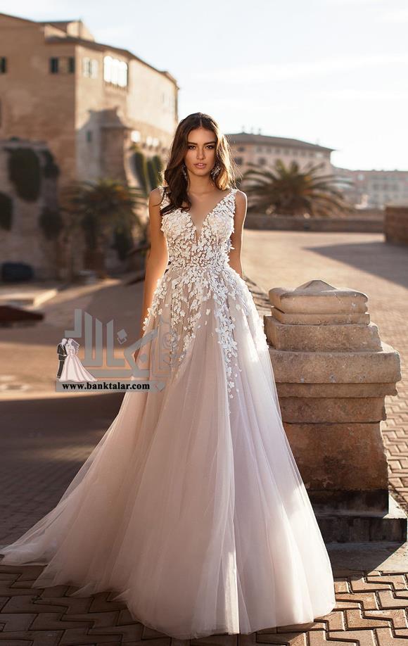 مدل لباس عروس دانتل و جدید ۲۰۱۹