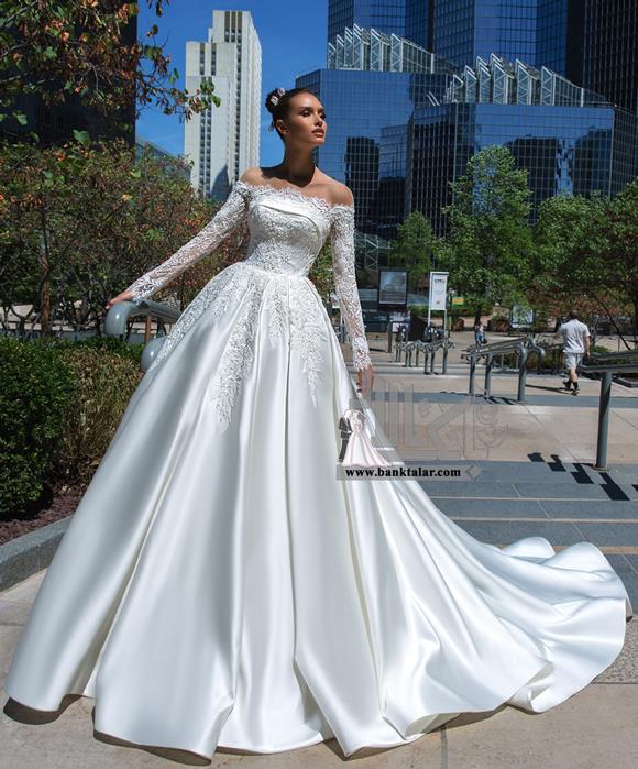 مدلهای لباس عروس پوشیده 2020