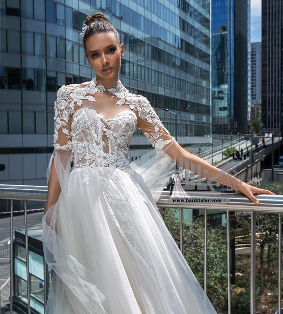 لباس عروس مدل پوشیده ۲۰۲۰