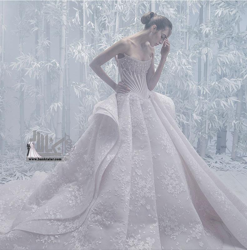 10 مدل لباس عروس کلاسیک و مجلل 2020