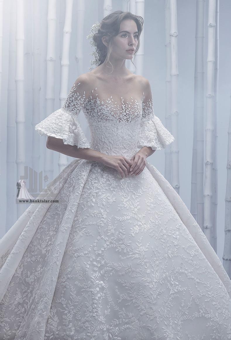 مدلهای لباس عروس آستین دار 2020