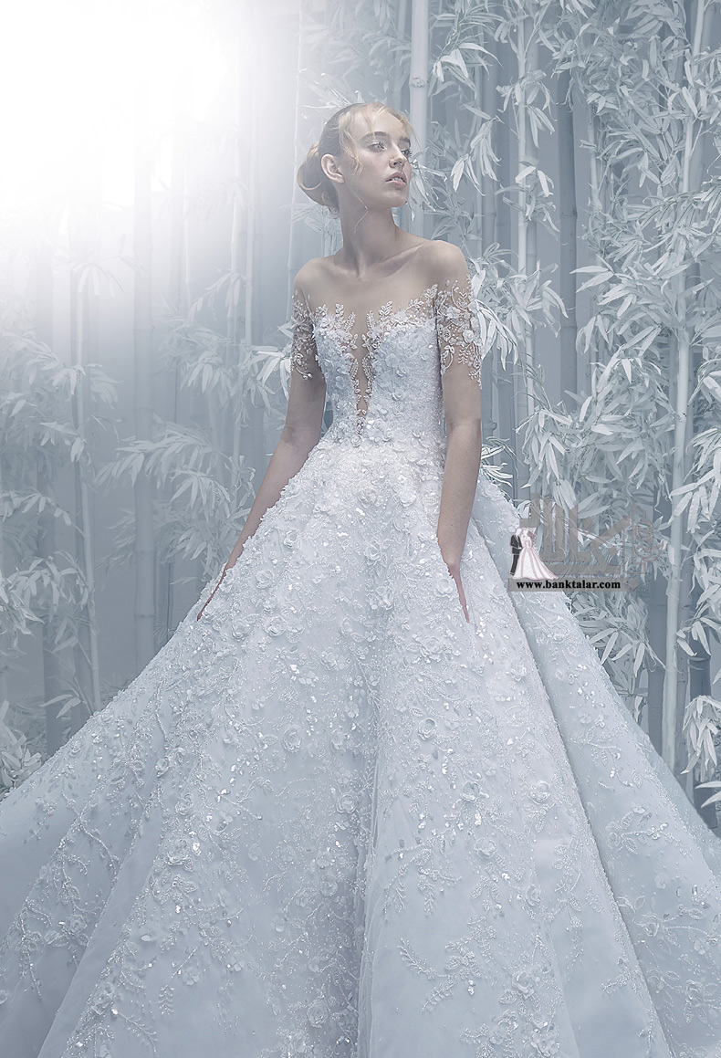 لباس عروس دانتل جدید ۲۰۲۰