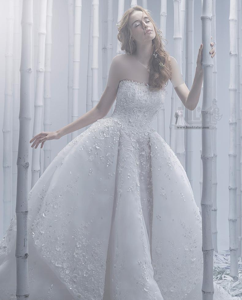 لباس عروس مدل پرنسسی 2020