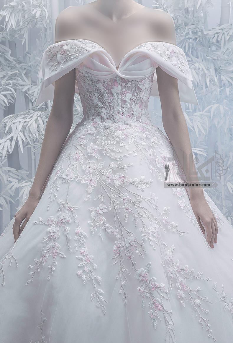 مدل لباس عروس پفی جدید ۲۰۲۰