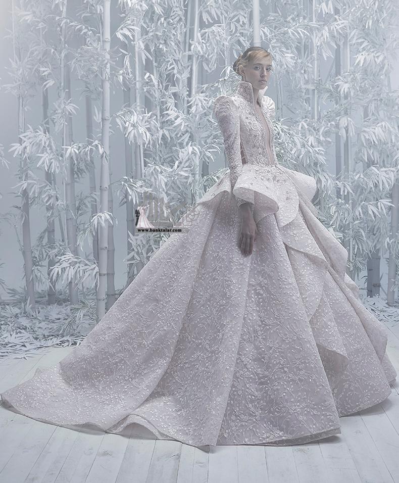 مدل لباس عروس پوشیده و جدید ۲۰۲۰