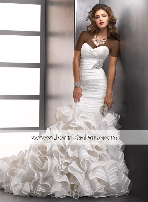 banktalar.com***قشنگترین عکس های مدل لباس عروس زیبا و تک 2013