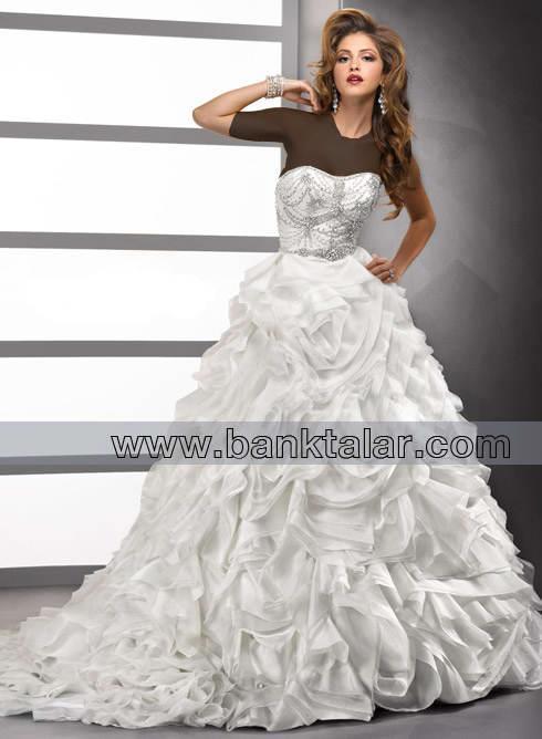 لباس عروس شیک و زیبا 2013**banktalar.com
