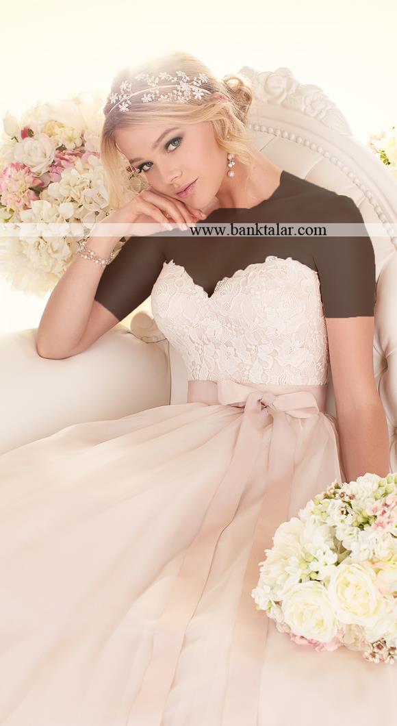 لباس عروس دانتل 2015**banktalar.com