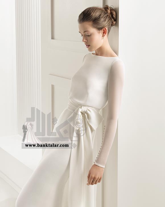مدل های لباس عروس اروپایی و ساده 2015