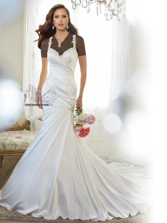 مدل لباس عروس دانتل 2015