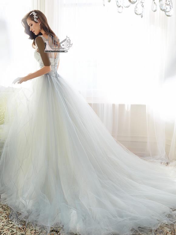 لباس عروس جدید 2015 ساده و شیک