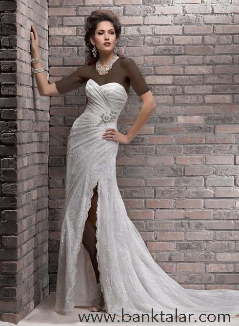 مدل لباس عروس های خاص 2 ** banktalar.com