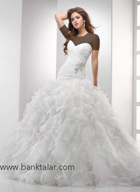 لباس عروس های اروپایی و شیک**banktalar.com