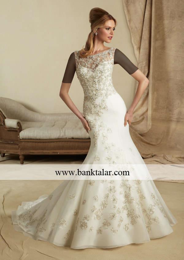 مدل های لباس عروس دانتل 2013 **banktalar.com
