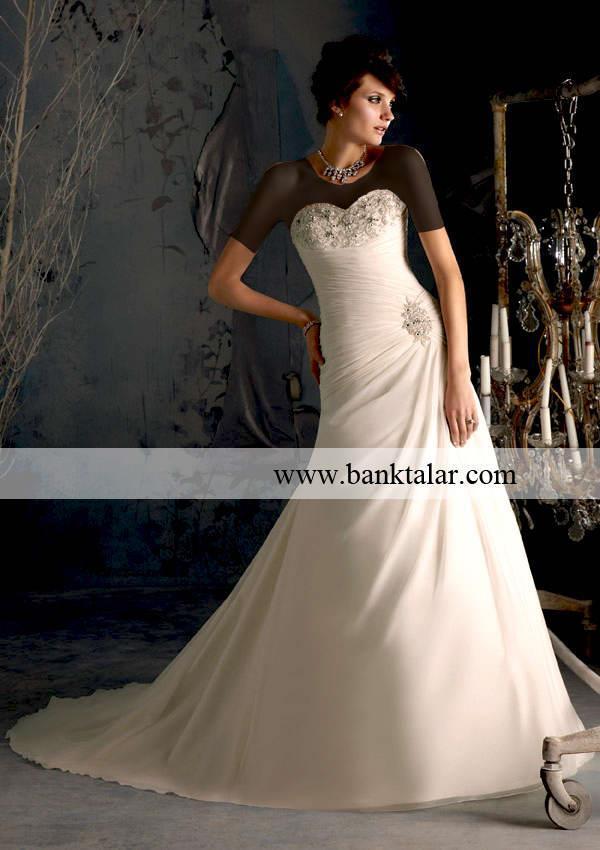 مدل های لباس عروس و نامزدی 2013**banktalar.com