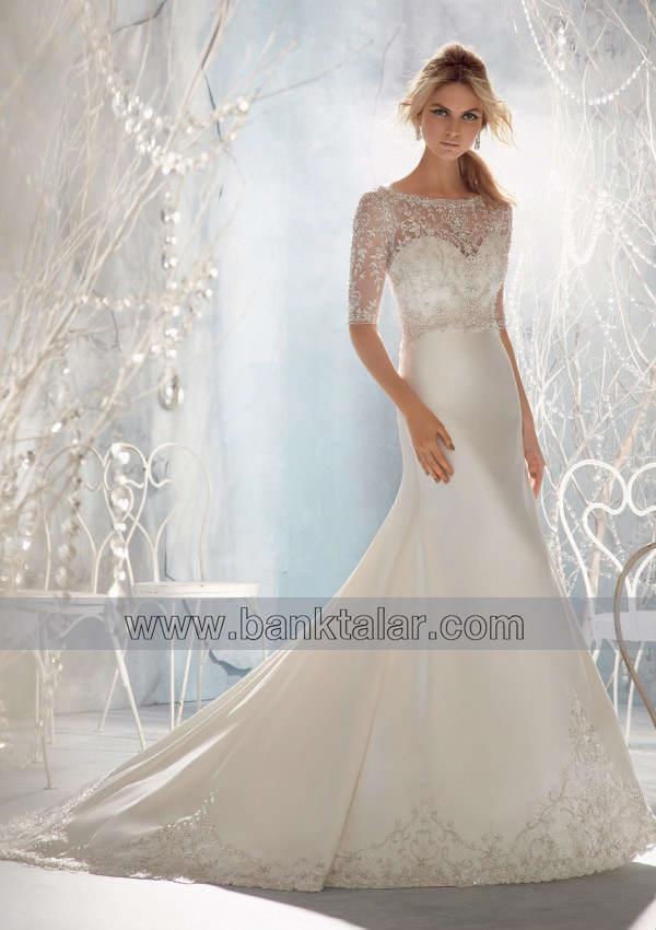 لباس عروس با کاردست های ساده و زیبا**banktalar.com