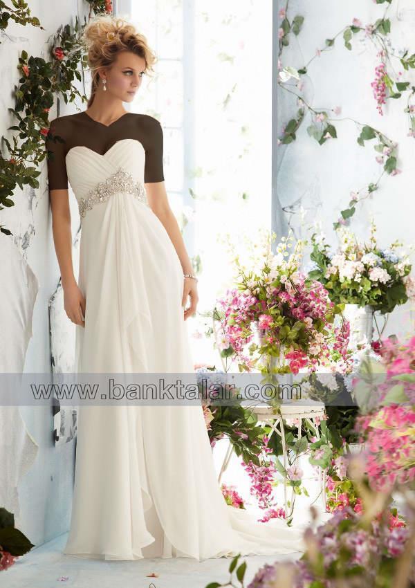 لباس عروس های اروپایی ساده و زیبا**banktalar.com