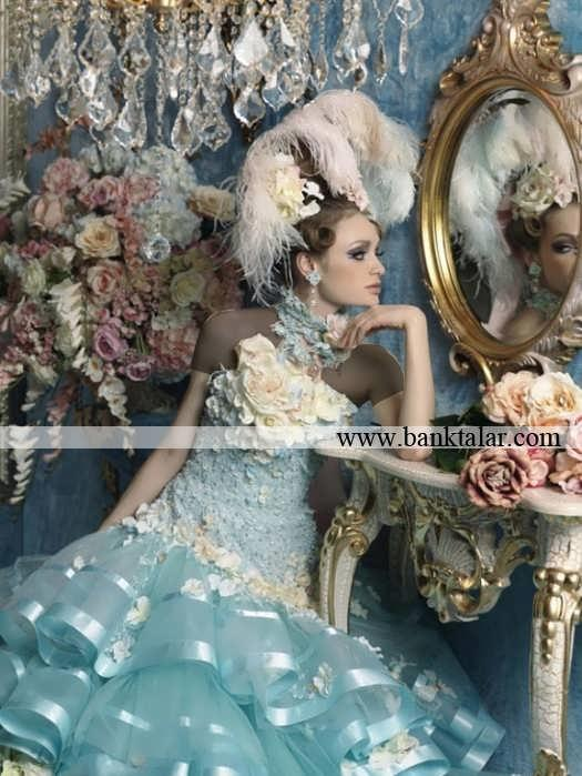 مدل لباس عروس های فانتزی و خاص 2014**banktalar.com