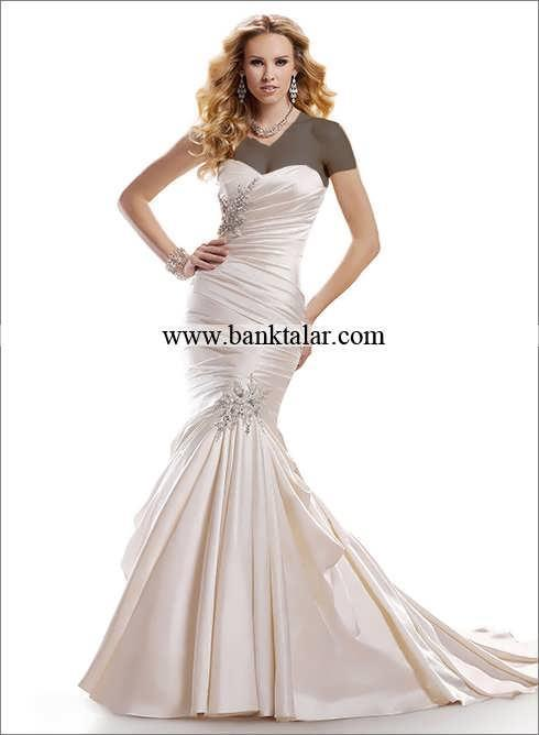 لباس عروس مدل ماهی 2014**banktalar.com