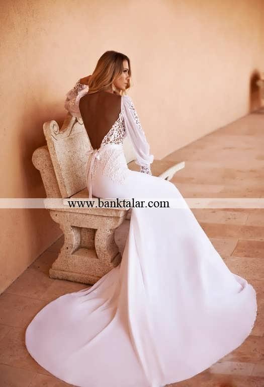 لباس عروس های دنباله دار بسیار زیبا 2014**banktalar.com
