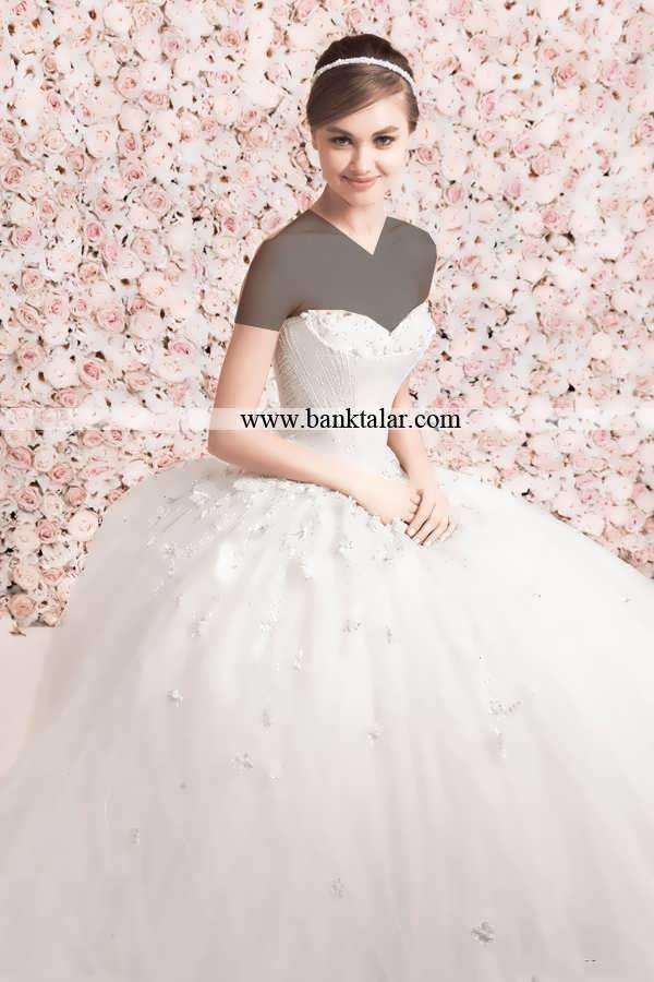 مدل لباس عروس 2015 اروپایی