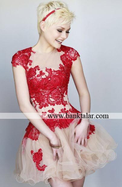 مدل پیراهن مجلسی دخترانه 2014**banktalar.com