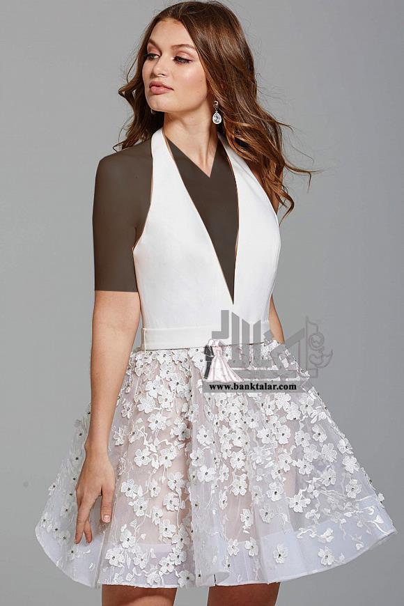 مدل پیراهن مجلسی دخترانه جدید 2018
