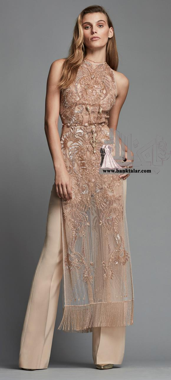 لباس مجلسی ساده و دخترانه 2018