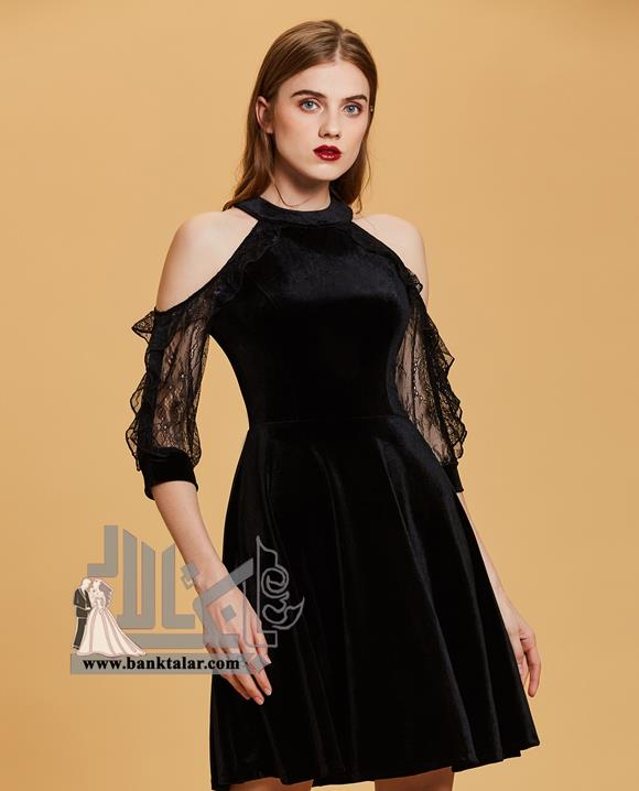 مدل لباس مجلسی کوتاه و دخترانه 2018