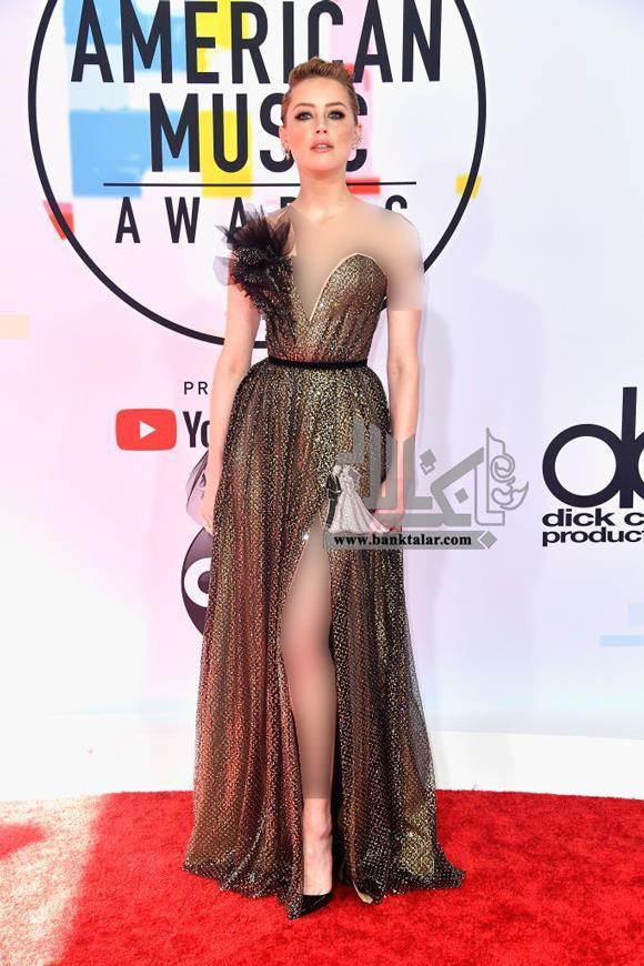 مدل های لباس هنرمندان در جشن American Music Awards 2018