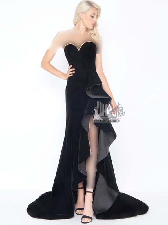 مدل های لباس مجلسی بلند دخترانه 2019