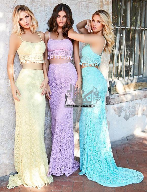 مدل های لباس مجلسی دخترانه 2019 جدید