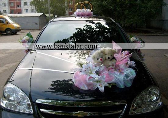 مدل های تزئین ماشین عروس **banktalar.com