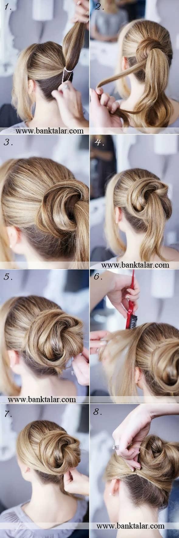 آموزش درست کردن مو به روش های مختلف**banktalar.com
