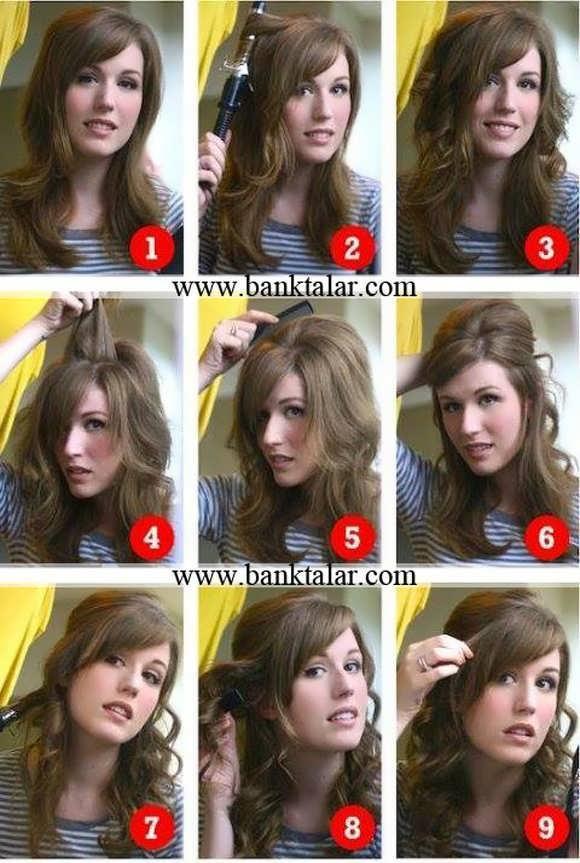 آموزش مرحله به مرحله شنیون های ساده و دخترانه زیبا**banktalar.com