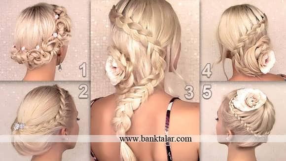 مدل های بافت مو دخترانه 2014**banktalar.com