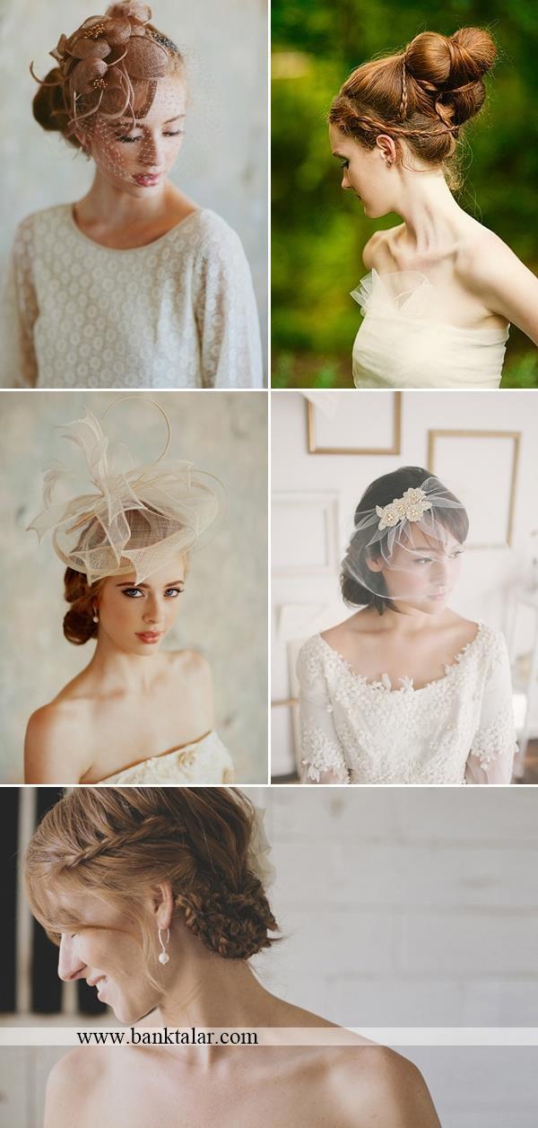 مدل شنیون عروس جدید و زیبا**banktalar.com