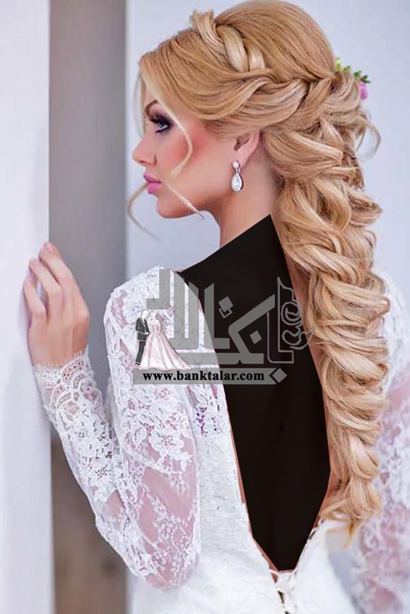 مدل شینیون عروس 2018